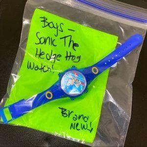 SONIC Boy's light up Watch! Brand New!ω≤ ≥﹏≤ ≥△≤ ≥